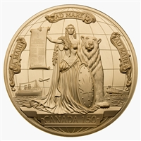 2017 Canada 150 Medal - Pure Gold Piece
