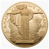 1927 Confederation Medal Re-strike - Pure Gold Piece