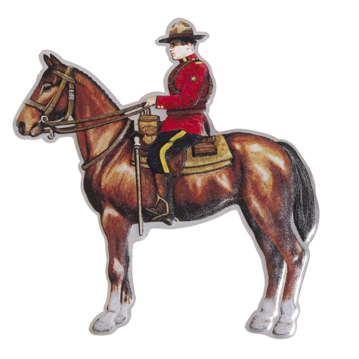 RCMP Royal Canadian Mounted Police .9999 silver 2013 Proof $10 O Canada