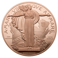 1927 Confederation Medal Re-strike - Bronze Piece