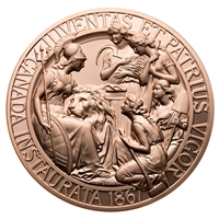 1867 Confederation Medal Re-strike - Bronze Piece
