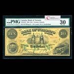The Bank of Toronto $10 1923  PMG VF-30