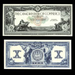 The Canadian Bank of Commerce $10 1917