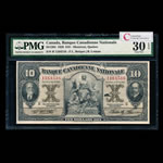 Banque Canadienne Nationale $10 1929  PMG VF-30