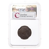 NFLD 1 cent 1864 Mirror Brockage on Reverse NGC VF-30