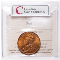 NFLD 1 cent 1929  ICCS MS-65