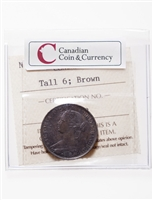 NB 1 cent 1864 Tall 6 ICCS MS-60