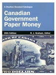 Canadian Government Paper Money - 26th Edition 2014