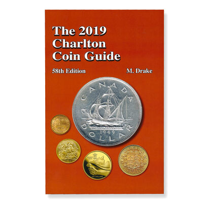The 2019 Charlton Coin Guide - 58th Edition