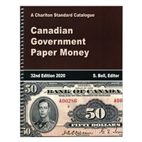 Canadian Government Paper Money - 32nd Ed., 2020