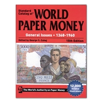 World Paper Money Catalogue 1368-1960 15th Edition