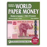 Standard Catalog of World Paper Money: Modern Issues | 1961-Present | 21st Ed.
