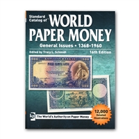 World Paper Money General Issues | 1368-1960, 16th Ed.