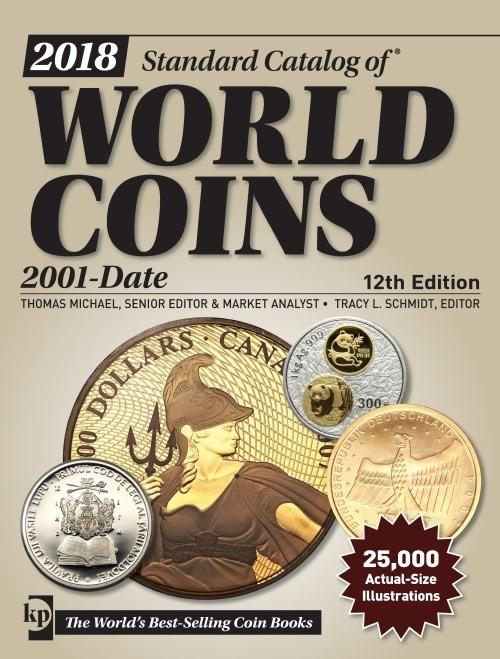 Standard Catalog of World Coins 2001-Date (2018), 12th Ed