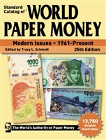 World Paper Money Modern Issues | 1961-Present, 25th Ed.