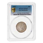 NB 20 cent 1862  PCGS EF-45