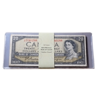 $20 1954 'Halifax Hoard' Bank Notes - Lot of 10 notes