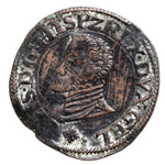 Spanish Netherlands Statenduit 1598 Philip II EF-40