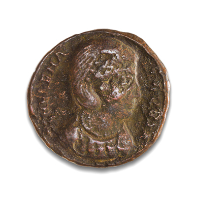 Ancient Rome AE3 Helena, wife of Constantine I, 'The Great' 307 AD F-12