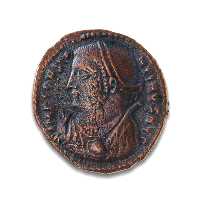 Ancient Rome AE3 Constantine I, 'The Great' 307 AD EF-40