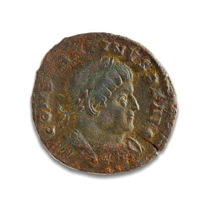 Ancient Rome AE3 Constantine I, 'The Great' 307 AD VF-20