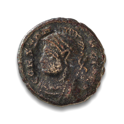 Ancient Rome AE4 Constantine I, 'The Great' 307 AD-337 AD F-12