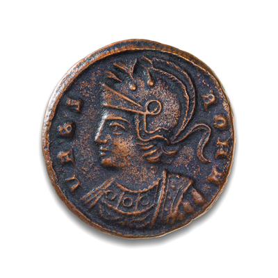 Ancient Rome AE3/4 Constantine I, 'The Great' 307 AD EF-40