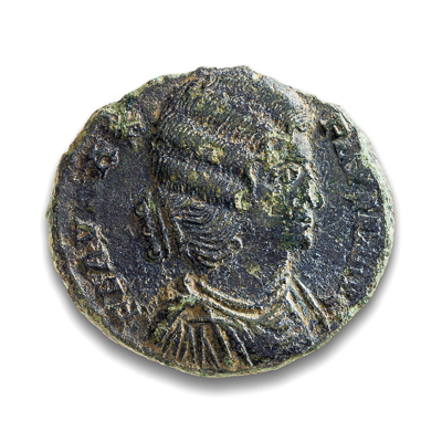 Ancient Rome AE3 Fausta 307 AD VF-20