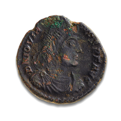 Ancient Rome AE3 Jovian 363 AD F-12