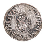 Spanish Netherlands Liard 1551 Burgundy EF-40