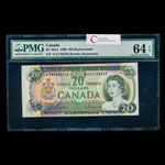 $20 1969 Replacement BC-50aA Beattie-Rasminsky Series A Prefix *EA PMG CUNC-64