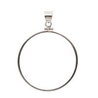 Sterling Silver Bezel and Chain