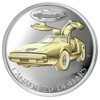 $20 2003 Silver Coin - Bricklin SV-1