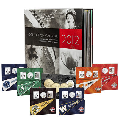2012 Canada Post Annual Collection Stamp Set & Collector Coins - Collection 1