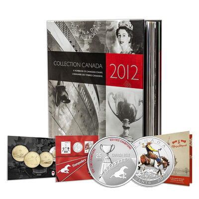2012 Canada Post Annual Collection Stamp Set & Collector Coins - Collection 2