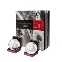 2012 Canada Post Annual Collection Stamp Set & Collector Coins - Collection 3
