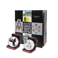 2013 Canada Post Annual Collection Stamp Set & Collector Coins