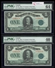 $1 1923 Matched Serial # Set DC-25J McCavour-Saunders, Green seal. Group 2. Series C   Prefix C PMG CUNC-64