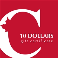$10 Canadian Coin & Currency Gift Certificate