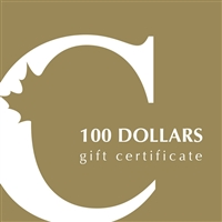 $100 Canadian Coin & Currency Gift Certificate