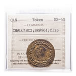 Lower Canada Token 1812 LC-48C2 MS-60 ICCS
