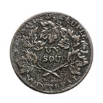 Lower Canada 1 Sou Token 1837 LC-4A2 VF-20