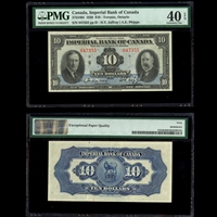 The Imperial Bank of Canada $10 1939 Jaffray-Phipps PMG EF-40