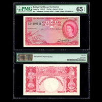 British West Indies 1 Dollar - Eastern Group 1954-57 MS-65 PMG