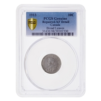 10 cent 1913 Broad Leaves PCGS EF-40