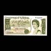 Saint Helena & Ascension 1 Pound 1976 Elizabeth II Issued note UNC-60