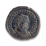 Ancient Rome Radiate Constantine I, The Great 337 AD