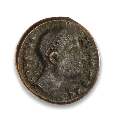 Ancient Rome AE 3 Constantine I, The Great 337 AD