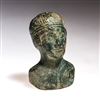Ancient Rome 300 AD Roman North Africa Bronze Bust