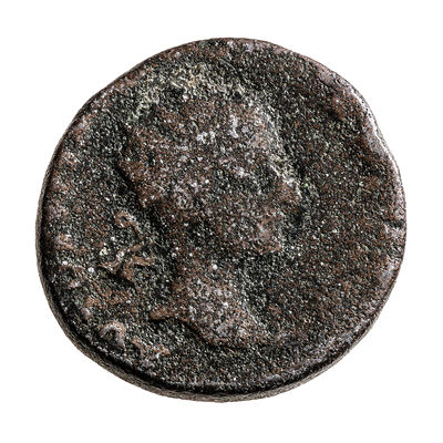Ancient Rome AE 28 Gordian III 244 AD